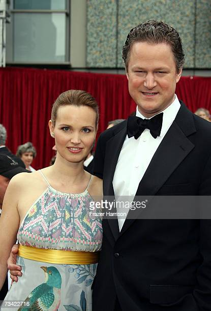 Director Florian Henckel von Donnersmarck and wife Christiane Asschenfeldt attend the 79th Annual Academy Awards held at the Kodak Theatre on...