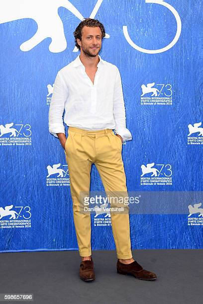 Director Francesco Carrozzini attends the photocall of 'Franca Chaos And Creation' during the 73rd Venice Film Festival at Palazzo del Casino on...