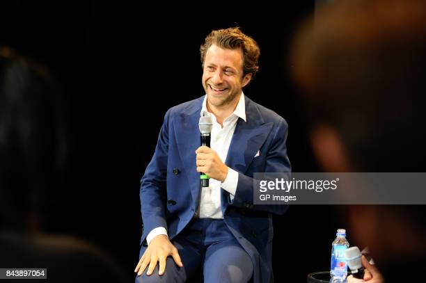 Director Francesco Carrozzini presents at Toronto Fashion Week the Screening Of 'Franca Chaos and Creation' at BloorYorkville on September 7 2017 in...