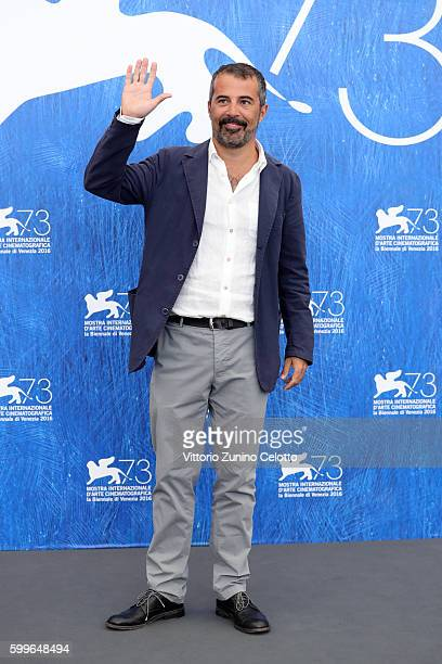 Director Francesco Munzi attends a photocall for 'Assalto Al Cielo' during the 73rd Venice Film Festival at on September 6 2016 in Venice Italy