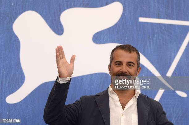 """Director Francesco Munzi attends the photocall of the movie """"Assalto Al Cielo"""" presented out of competition at the 73rd Venice Film Festival on..."""