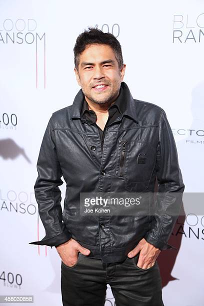 "Director Francis dela Torre attends ""Blood Ransom"" Los Angeles Premiere at ArcLight Hollywood on October 28, 2014 in Hollywood, California."
