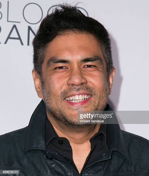 "Director Francis dela Torre attends the Los Angeles Premiere of ""Blood Ransom"" at ArcLight Hollywood on October 28, 2014 in Hollywood, California."