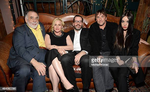 Director Francis Ford Coppola actress Patricia Arquette Eric White director Richard Linklater and actress Lorelei Linklater attend the AMC Networks...