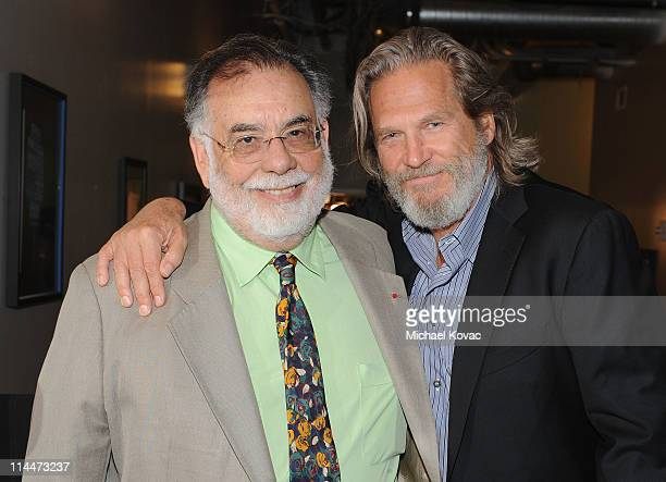 Director Francis Ford Coppola and actor Jeff Bridges attend the 2011 Young Hollywood Awards presented by Bing at Club Nokia on May 20, 2011 in Los...