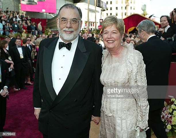 Director Francis Ford Coppola and wife Eleanor Coppola attend the 76th Annual Academy Awards at the Kodak Theater on February 29 2004 in Hollywood...