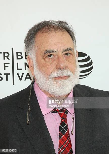 Director Francis Ford Coppola attends Tribeca Talks Storytellers: Francis Ford Coppola With Jay McInerney at SVA Theatre 1 on April 20, 2016 in New...