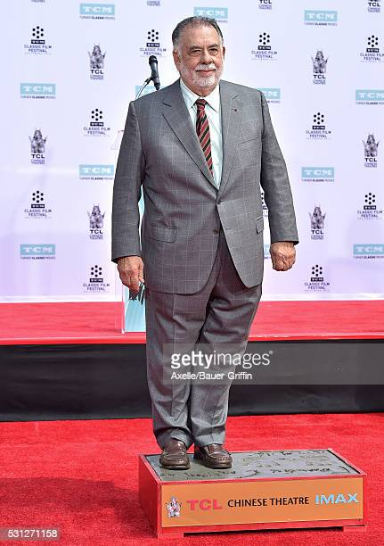 Director Francis Ford Coppola is honored with Hand and Footprint Ceremony at TCL Chinese Theatre IMAX on April 29 2016 in Hollywood California