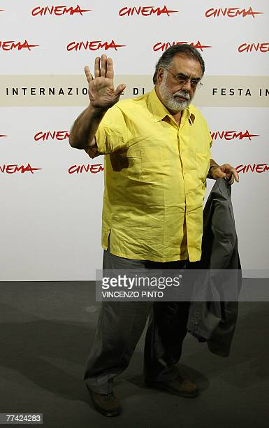 US director Francis Ford Coppola poses during Youth Without Youth photocall at the second annual film festival 20 October 2007 in Rome Youth Without...