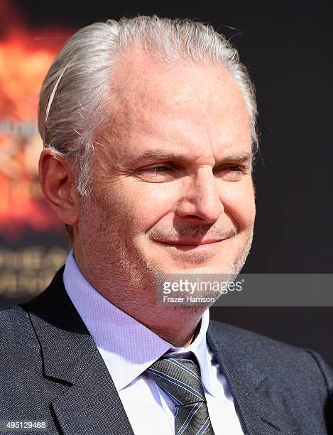 Director Francis Lawrence attends Lionsgate's The Hunger Games Mockingjay Part 2 Hand and Footprint Ceremony at TCL Chinese Theatre on October 31...