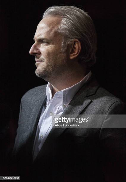 """Director Francis Lawrence attends the """"Hunger Games: Catching Fire"""" Knoxville Screening at Regal Pinnacle Stadium 18 on November 19, 2013 in..."""