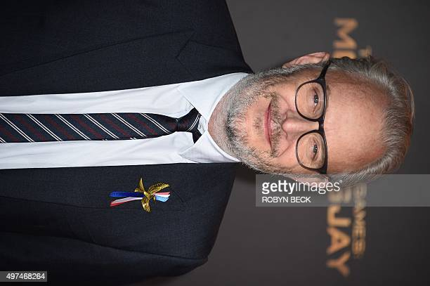 """Director Francis Lawrence attends the premiere of """"The Hunger Games: Mockingjay - Part 2"""" at the Microsoft Theater in Los Angeles, California,..."""