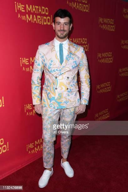 Director Francisco Lupini attends 'HE MATADO A MI MARIDO' Los Angeles Premiere at Harmony Gold Theatre on February 26 2019 in Los Angeles California