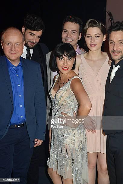 Director Francois Chouquet comedians/singers Patrice Maktav Cyril Romoli Carmen Maria Vega Mathilde Ollivier Fabian RichardÊand choregrapher...