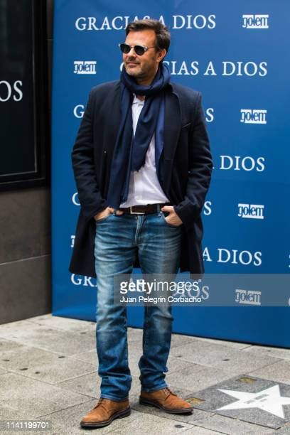 "Director Francois Ozon attends ""Gracias A Dios"" Madrid Photocall on April 08, 2019 in Madrid, Spain."