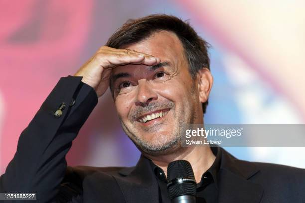 Director Francois Ozon attends the premiere of the film Ete 85 on July 07 2020 in Lille France