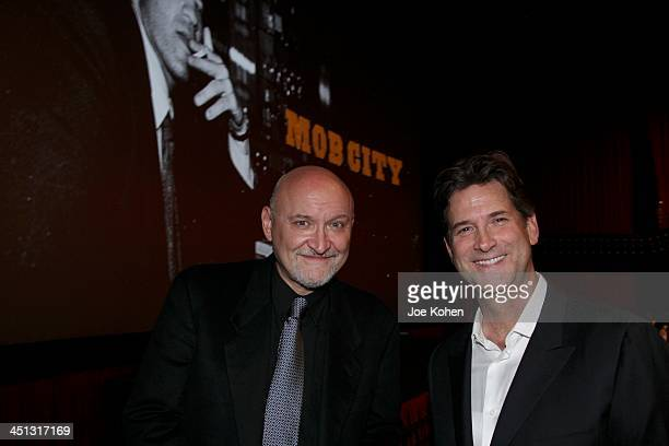 Director Frank Darabont and President Head of Programming for TNT TBS and Turner Classic Movies Michael Wright attend TNT's Mob City Screening at TCL...