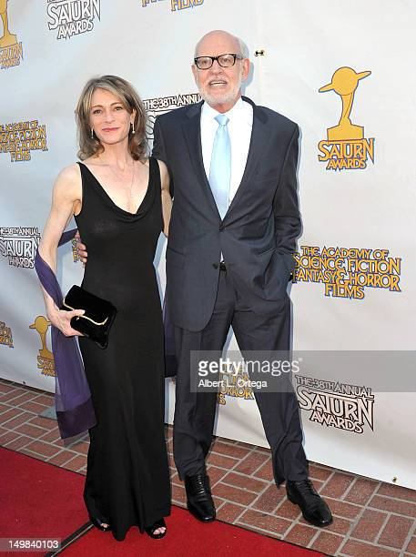 Director Frank Oz And Wife Victoria At The 38th Annual Saturn Awards Presented By Academy