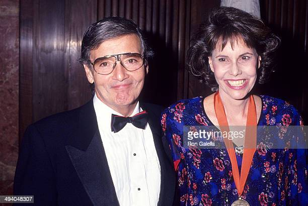 Director Frank Perry and wife author Barbara Goldsmith attend 'A Decade of Literary Lions The Pride of the New York Public Library' Gala to Benefit...