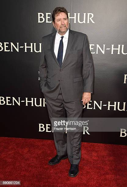"Director Fraser Clarke Heston attends the LA Premiere of the Paramount Pictures and Metro-Goldwyn-Mayer Pictures title ""Ben-Hur"", at the TCL Chinese..."
