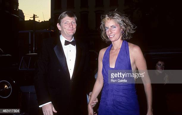 Director Fred Schepisi and wife Mary attend the Mishima A Life in Four Chapters New York City Premiere on September 17 1985 at the Japan Society in...