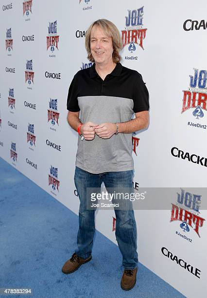 Director Fred Wolf attends the world premiere of Crackle's Joe Dirt 2 Beautiful Loser at Sony Pictures Studios on Wednesday June 24 2015 in Culver...