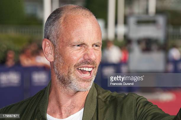 Director Fredrik Bond arrives at the screening of the film 'The Necessary Death Of Charlie Countryman' during the 39th Deauville American Film...