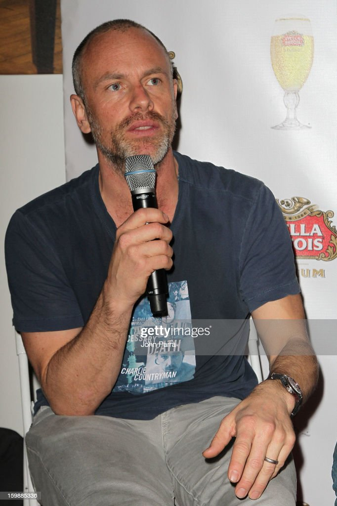 Director Fredrik Bond attends the Stella Artois hosted Press Junket for The Necessary Death of Charlie Countryman on January 22, 2013 in Park City, Utah.