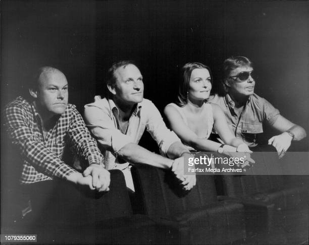 Director from London the 'Prospect Theatre Company' from the Old Vic.Isla Blair, Julian Glover, Derek Jacobi and Timothy West, at the Seymour Centre,...