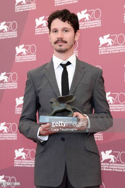 """Director Gabe Klinger attends """"Venezia Classici"""" Jury Photocall during the 70th Venice International Film Festival at Palazzo del Casino on September..."""