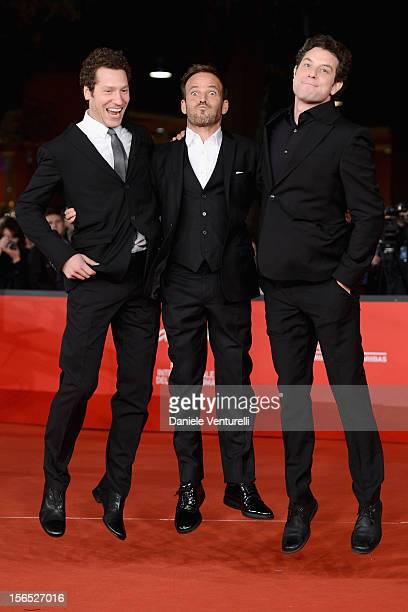 Director Gabe Polsky, actor Stephen Dorff and director Alan Polsky attend 'The Motel Life' Premiere during the 7th Rome Film Festival at the...