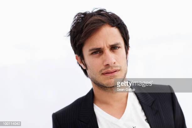 Director Gael Garcia Bernal from the film Revolucion pose for a portrait during the 63rd Annual Cannes Film Festival on May 21 2010 in Cannes France