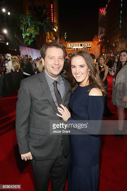 Director Gareth Edwards and guest attend The World Premiere of Lucasfilm's highly anticipated firstever standalone Star Wars adventure Rogue One A...