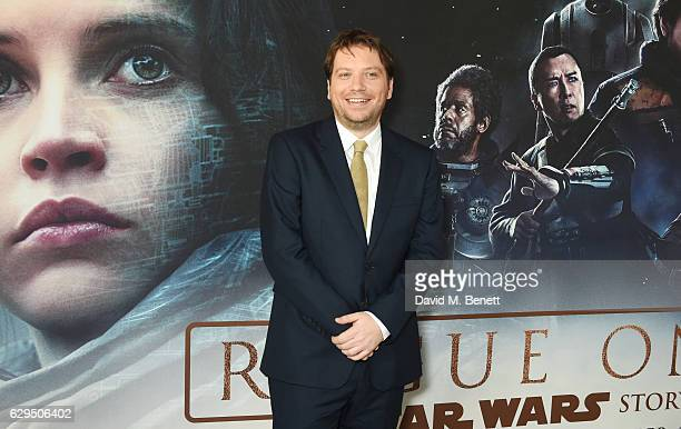 Director Gareth Edwards attends a fan screening of Rogue One A Star Wars Story at the BFI IMAX on December 13 2016 in London England