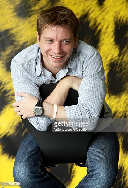 Director Gareth Edwards attends a photocall for Monsters during the 63rd Locarno Film Festival on August 12 2010 in Locarno Switzerland