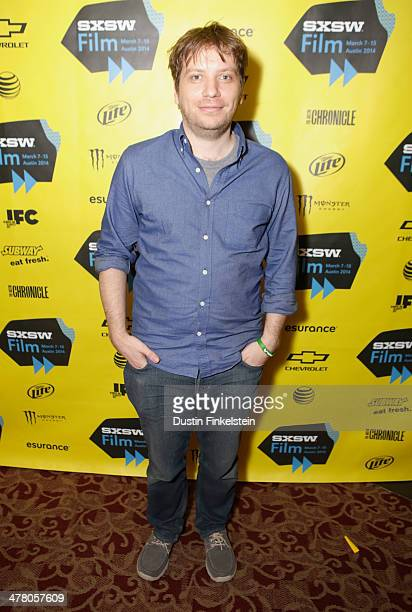 Director Gareth Edwards attends GODZILLA THE JAPANESE ORIGINAL during the 2014 SXSW Music Film Interactive Festival at Alamo Ritz on March 11 2014 in...