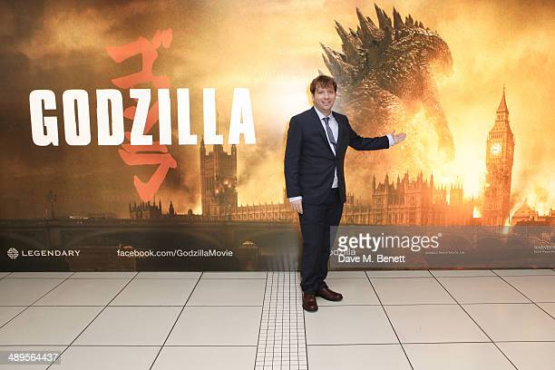 Director Gareth Edwards attends the European premiere of 'Godzilla' at Odeon Leicester Square on May 11 2014 in London England