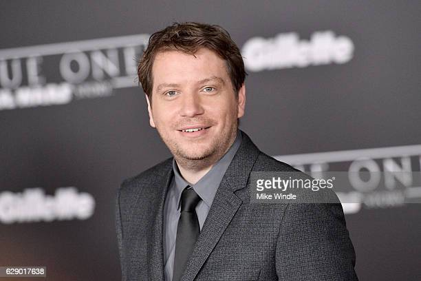 Director Gareth Edwards attends the premiere of Walt Disney Pictures and Lucasfilm's Rogue One A Star Wars Story at the Pantages Theatre on December...