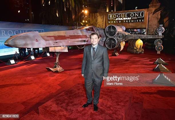 Director Gareth Edwards attends The World Premiere of Lucasfilm's highly anticipated firstever standalone Star Wars adventure Rogue One A Star Wars...