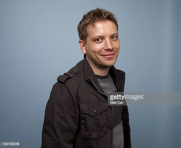 Director Gareth Edwards from Monsters poses for a portrait during the 2010 Toronto International Film Festival in Guess Portrait Studio at Hyatt...