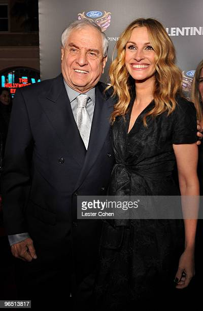 Director Garry Marshall and actress Julia Roberts arrive at the Valentine's Day Los Angeles Premiere at Grauman's Chinese Theatre on February 8 2010...