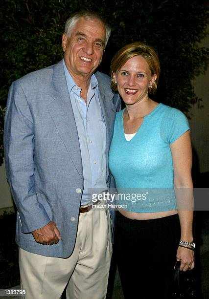 Director Garry Marshall and daughter Kathleen attend the premiere of the play Cobb at The Falcon Theatre on September 14 2002 in Burbank California