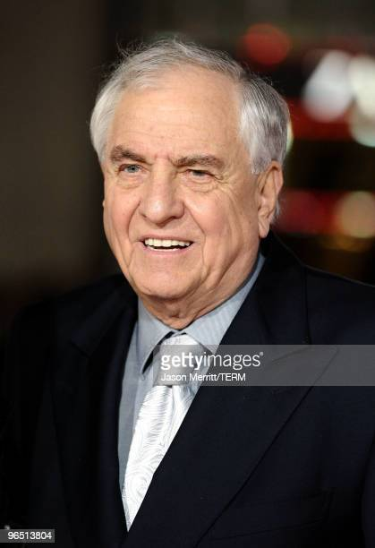 Director Garry Marshall arrives at the premiere of New Line Cinema's Valentine's Day at Grauman's Chinese Theatre on February 8 2010 in Hollywood...