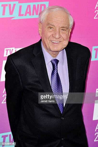 Director Garry Marshall arrives at the TV Land Icon Awards at The Barker Hanger on April 10 2016 in Santa Monica California