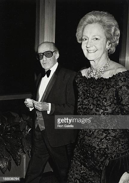 Director Garson Kanin and Katharine Graham attend the party for 10th Annual Kennedy Center HonorsA Celebration of the Permorning Arts on December 5...