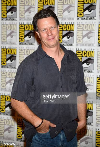 Director Gavin Hood attends the Ender's Game and Divergent press line during ComicCon International 2013 at the Hilton San Diego Bayfront Hotel on...