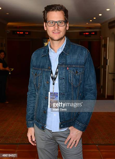 Director Gavin Kelly attends a screening of the film Chu and Blossom the 29th Santa Barbara International Film Festival on January 31 2014 in Santa...