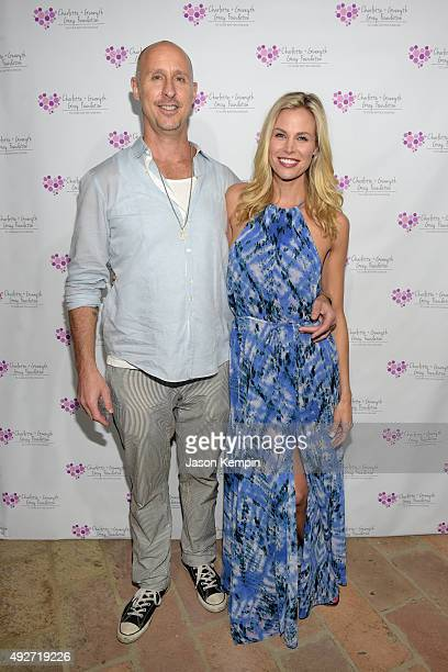 Director Gavin O'Connor and actress Brooke Burns attend The Charlotte And Gwenyth Gray Foundation To Cure Batten Disease Fundraiser at Private...