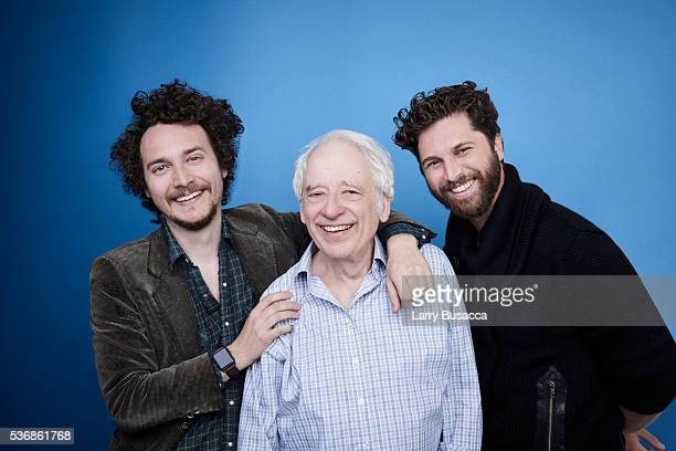 Director Gene Gallerano actor Austin Pendleton and director David H Holmes pose for a portrait at the Tribeca Film Festival on April 21 2016 in New...