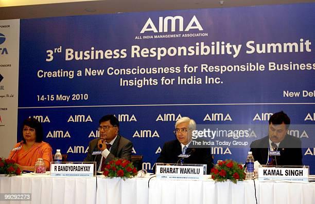 Director General AIMA Rekha Sethi Secretary Ministry of Corporate Affairs Government of India R Bandyopadhyay Director Tata Group Bharat Wakhlu and...